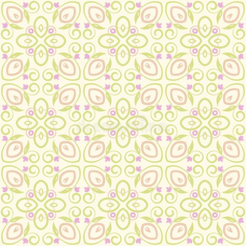 Configuration rose de papier peint illustration stock