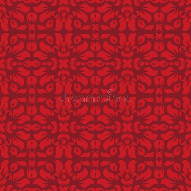 Configuration rouge de papier peint illustration libre de droits