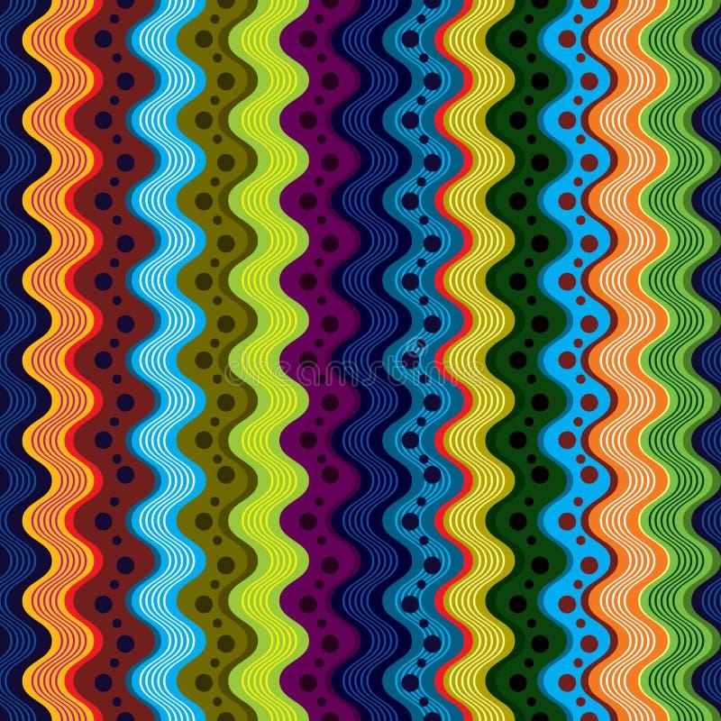 Configuration sans joint 1. d'art moderne. illustration de vecteur