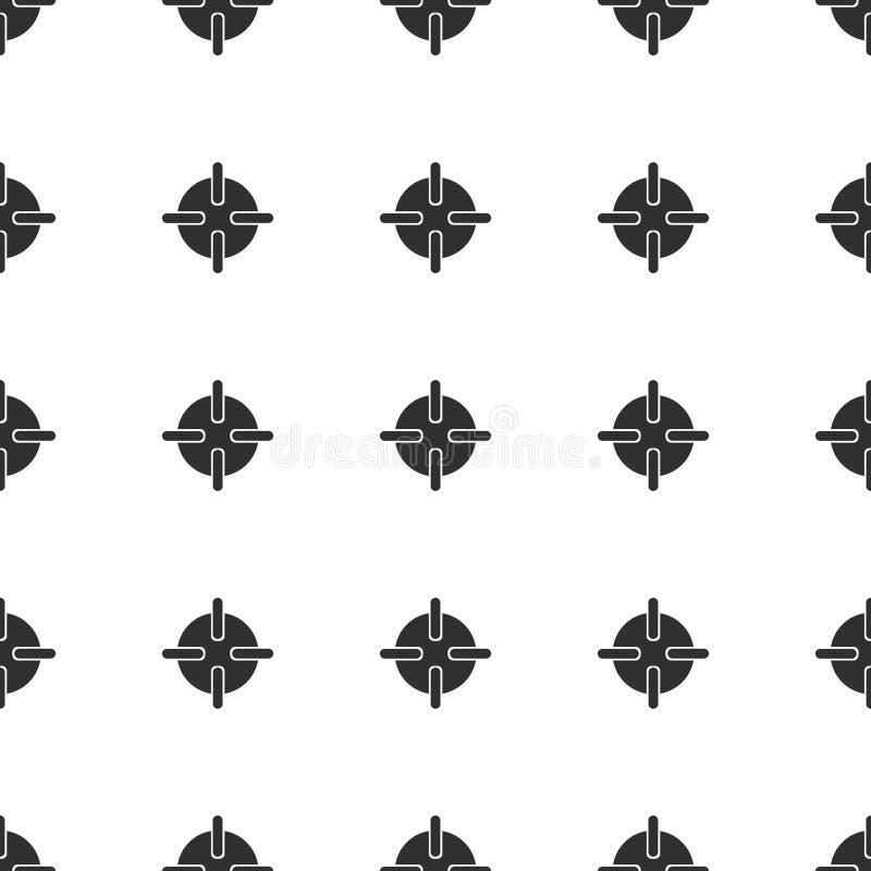 Configuration sans joint illustration de vecteur