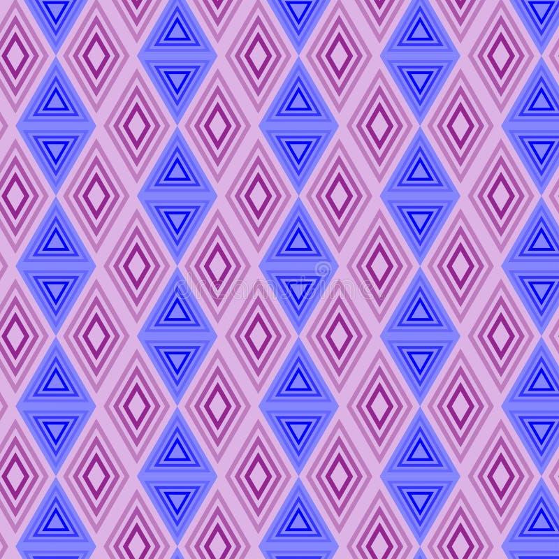 Configuration sans joint abstraite Configuration sans joint avec des triangles illustration libre de droits