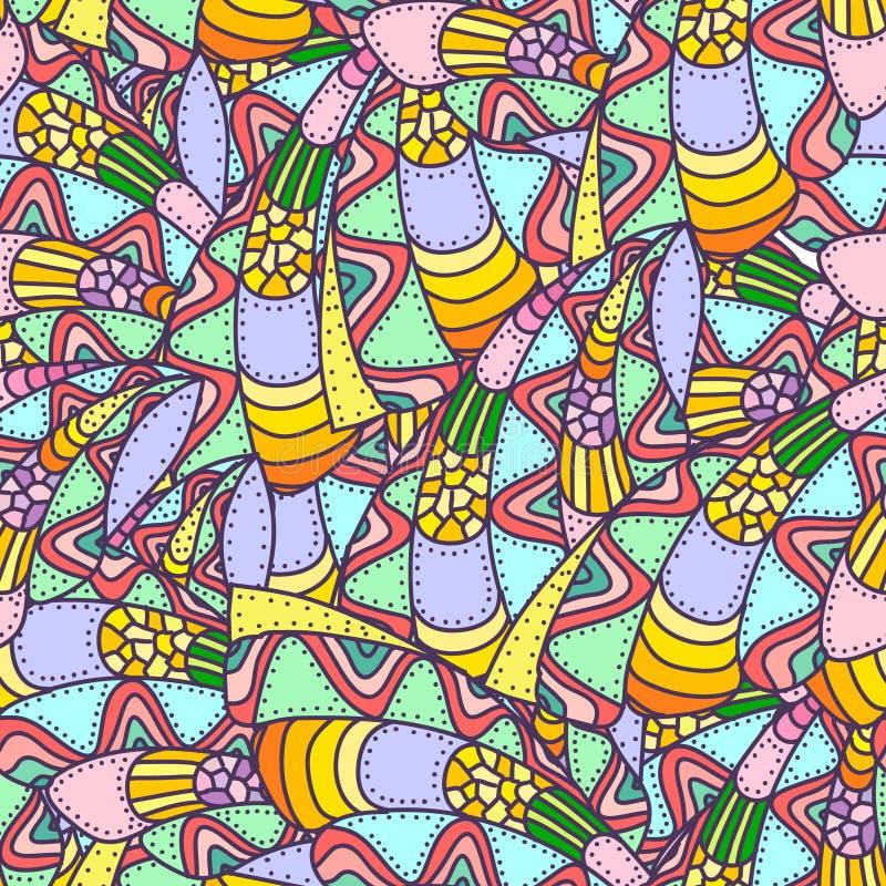 Configuration sans joint abstraite colorée photo libre de droits