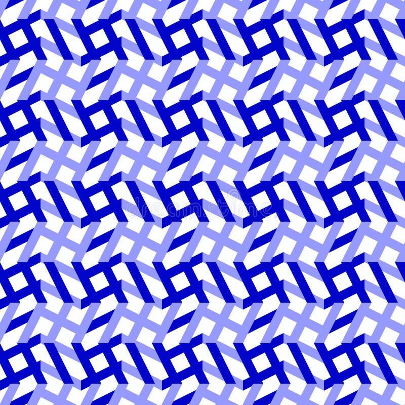 Configuration sans joint abstraite géométrique illustration stock