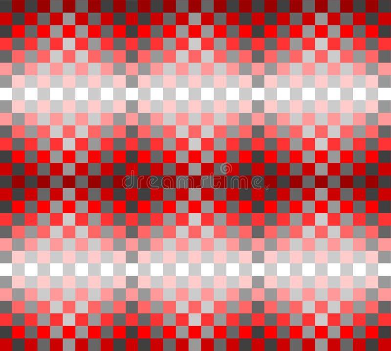 Configuration sans joint avec la conception checkered. illustration de vecteur