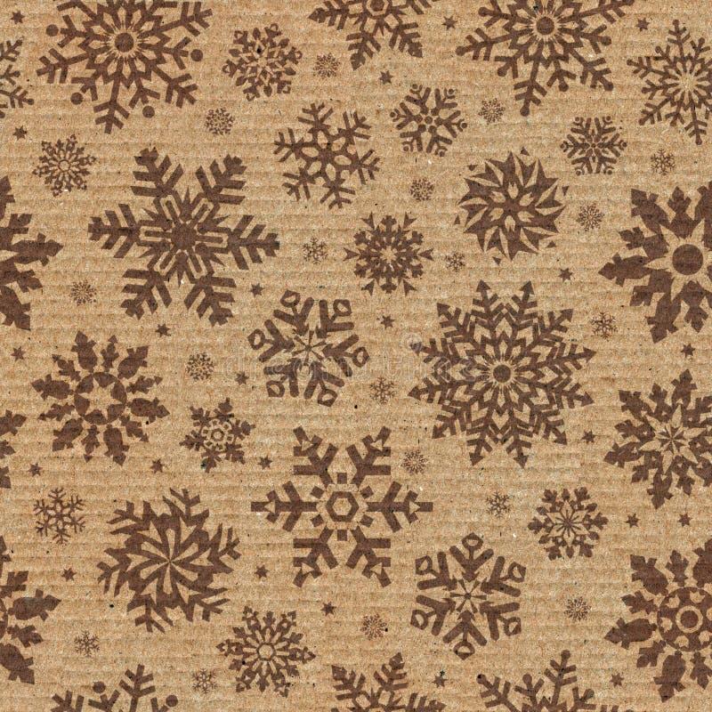 Configuration sans joint avec le fond de flocon de neige. photos libres de droits