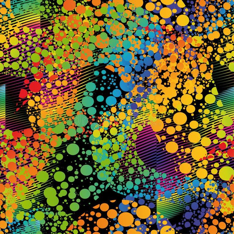 Configuration sans joint colorée illustration libre de droits