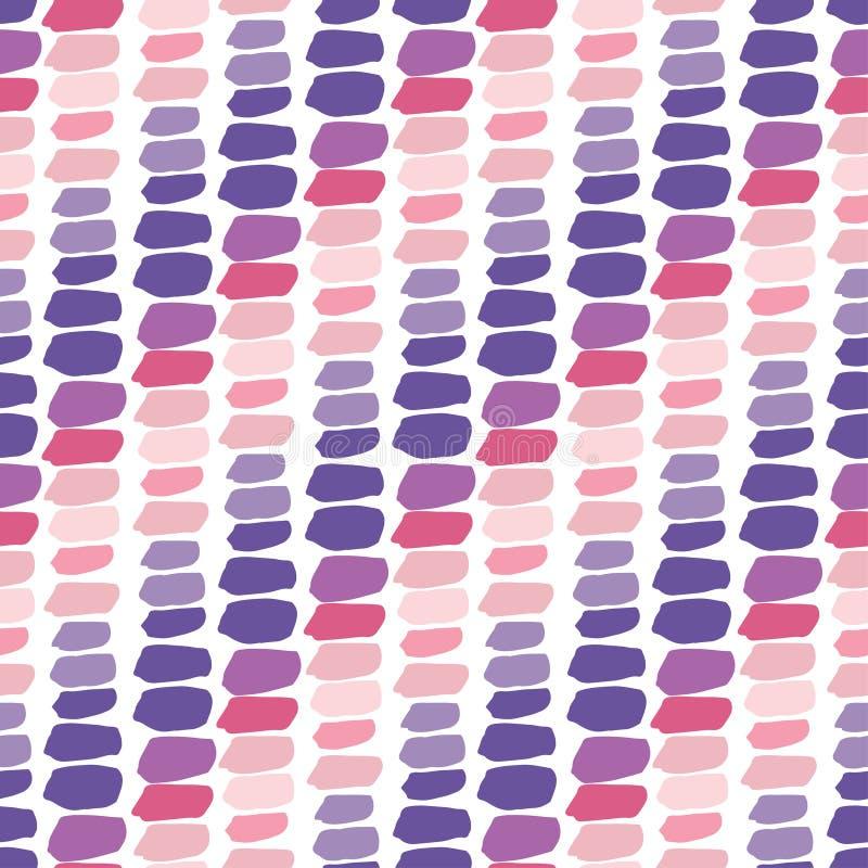 Configuration sans joint colorée Répétition du fond dans des couleurs en pastel Calibre élégant pour des copies de mode texture p illustration libre de droits
