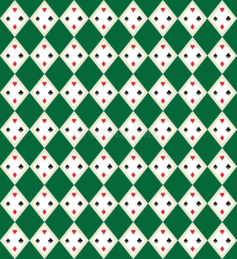 Configuration sans joint d'art de vecteur de Chaussette avec des losanges-Plaid illustration de vecteur