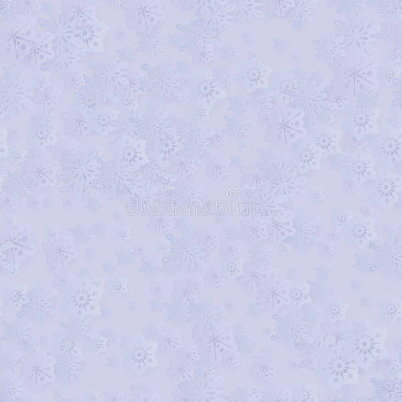 Configuration sans joint d'an neuf de Noël de l'hiver illustration libre de droits