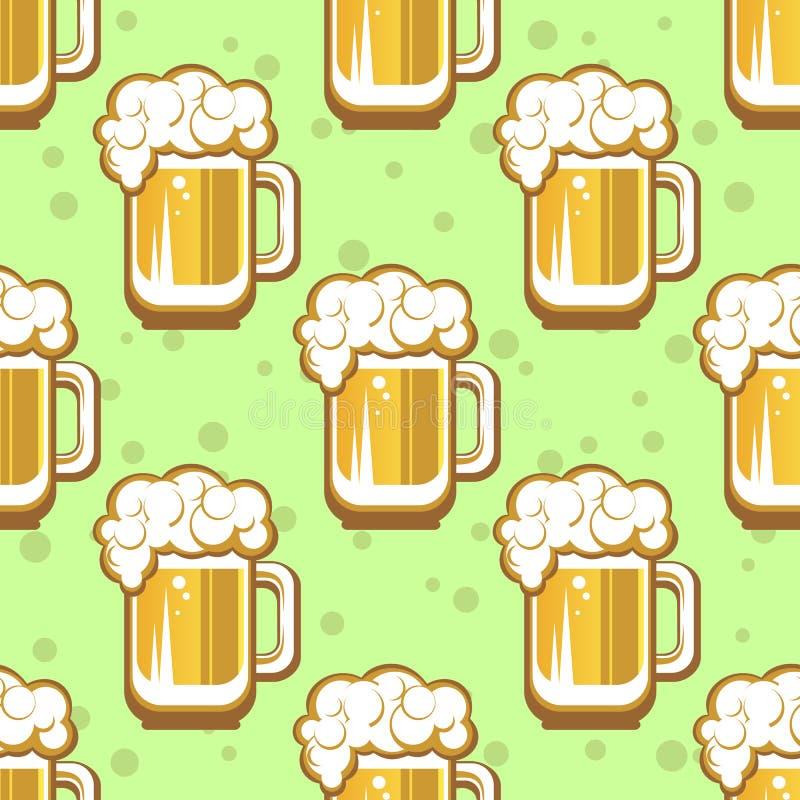Configuration sans joint de bière illustration libre de droits