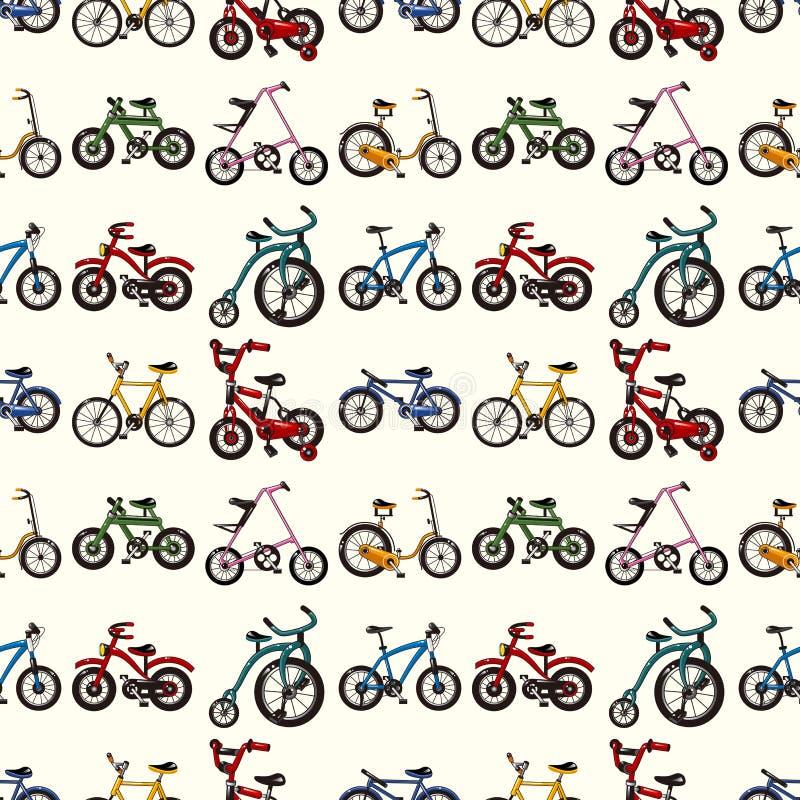Configuration sans joint de bicyclette illustration libre de droits