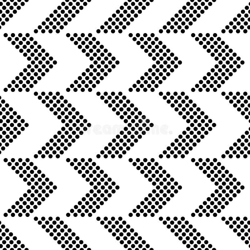 Configuration sans joint de flèche illustration stock