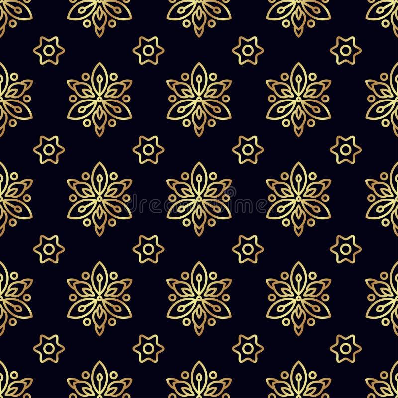 Download Configuration Sans Joint De Fleur D'or Photo stock - Image du album, tapisserie: 87701832