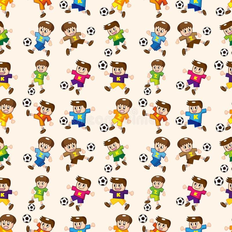 Configuration sans joint de footballeur illustration libre de droits