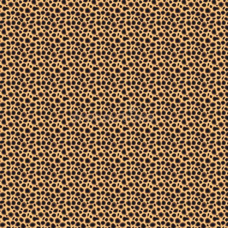 Configuration sans joint de giraffe illustration stock