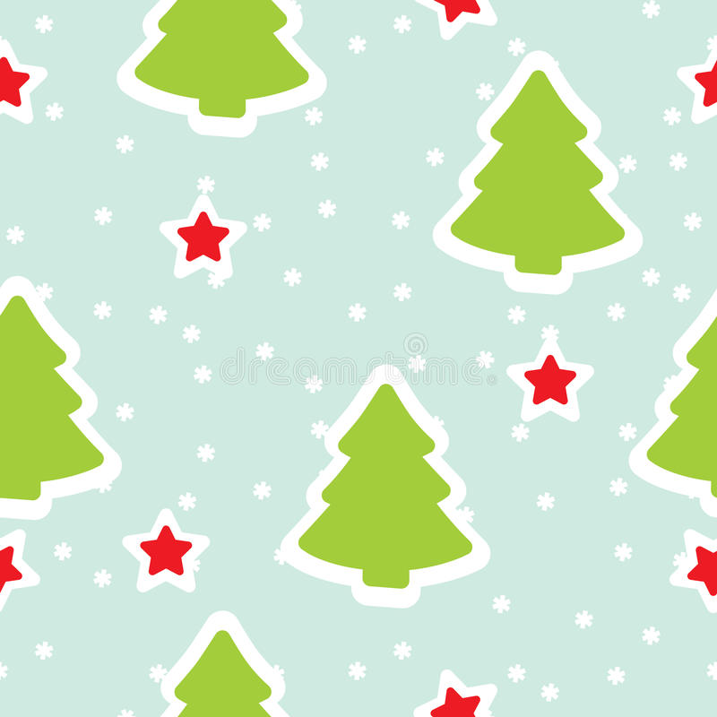 Configuration sans joint de l'hiver, Noël illustration stock