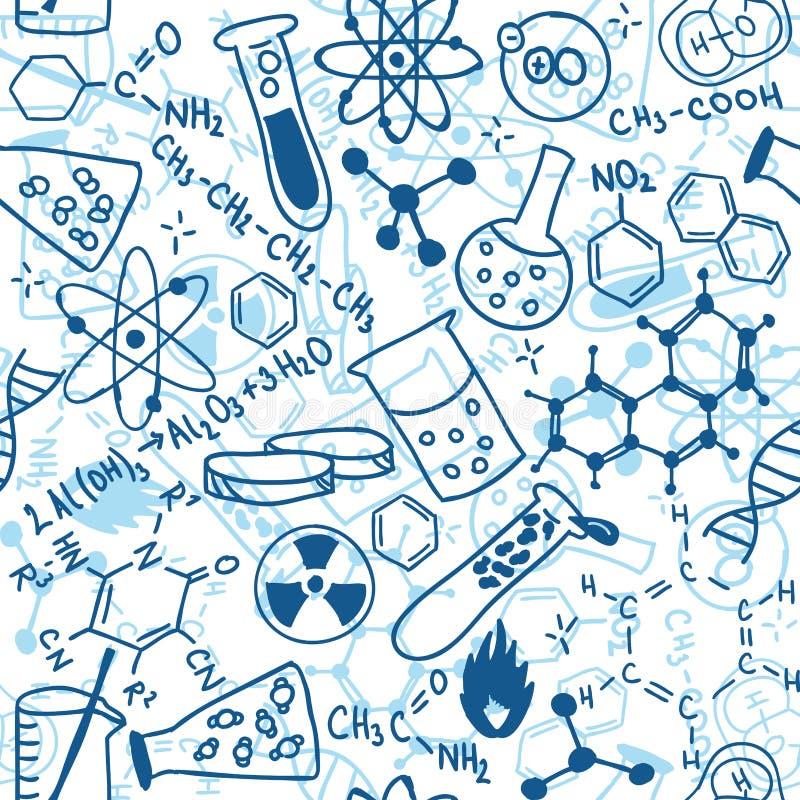 Configuration sans joint de la Science illustration de vecteur