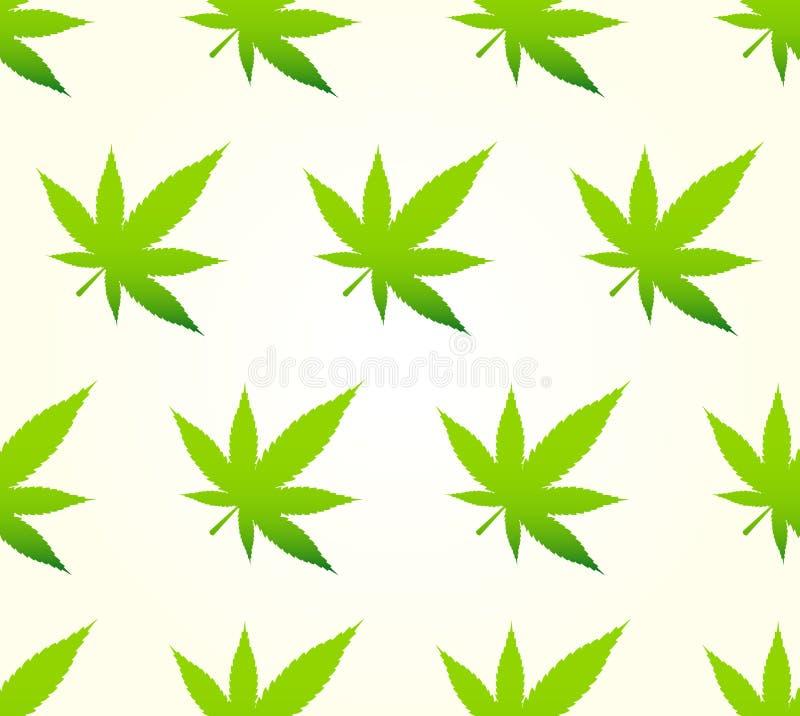 Configuration sans joint de marijuana illustration de vecteur