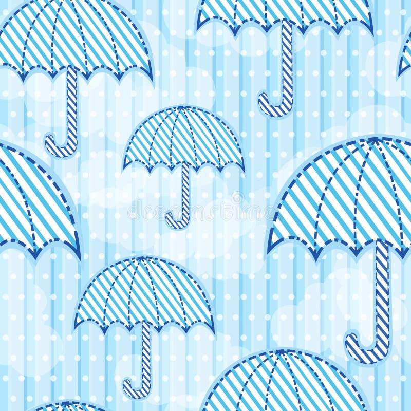 Configuration sans joint de parapluie illustration libre de droits