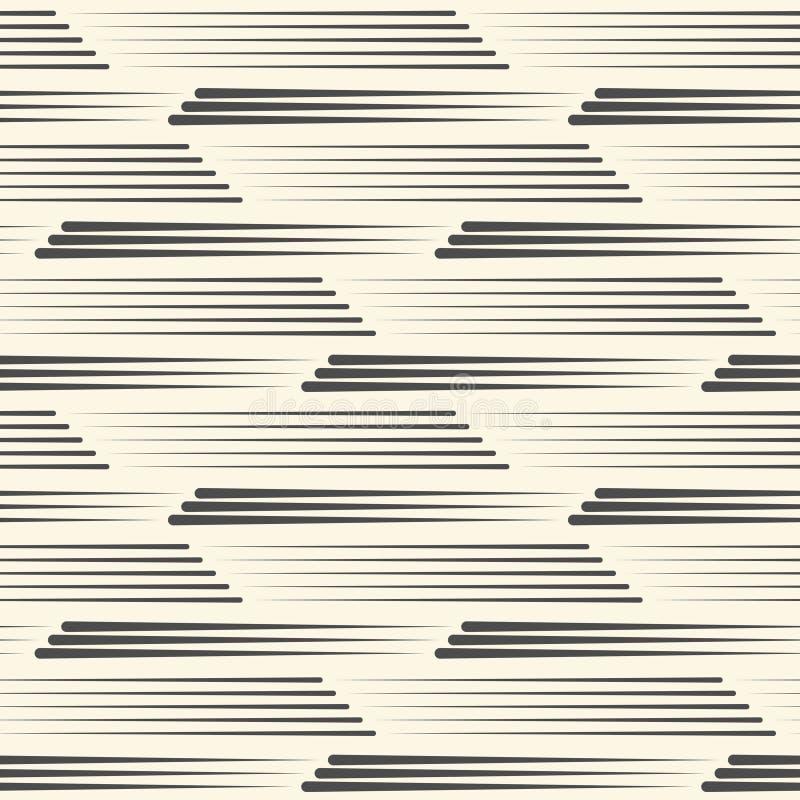 Configuration sans joint de piste Ligne abstraite texture illustration libre de droits