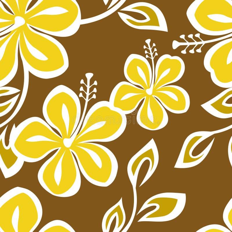 Configuration sans joint de Polynésie illustration stock