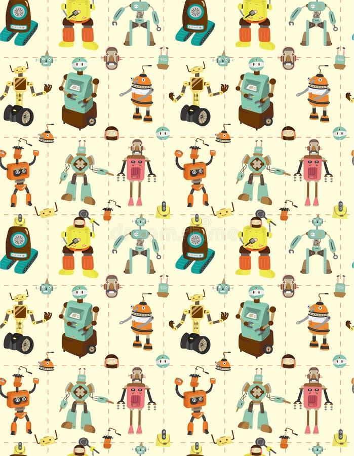 Configuration sans joint de robot illustration stock