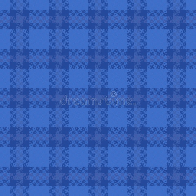 Configuration sans joint de Tartan illustration libre de droits