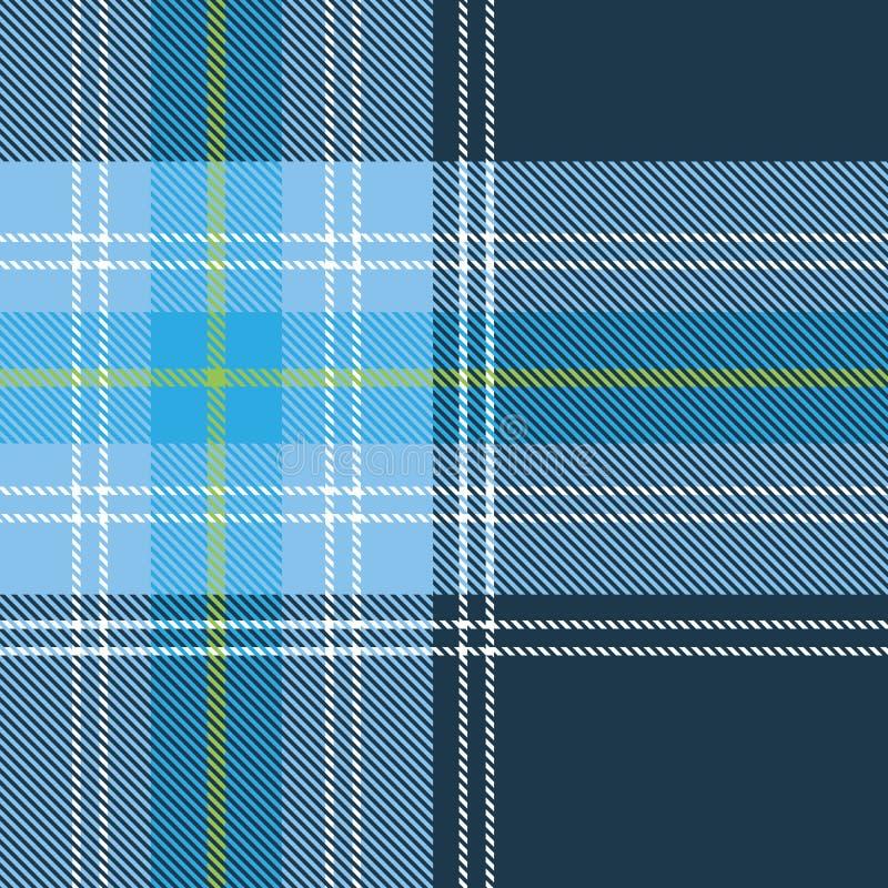 Configuration sans joint de tartan illustration stock