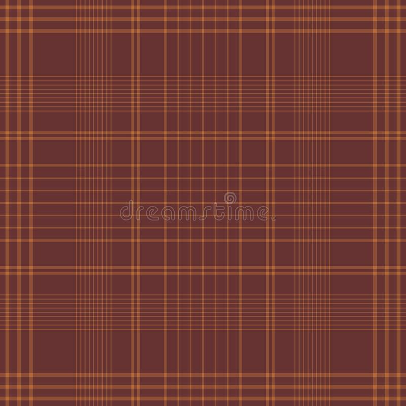 Configuration sans joint de Tartan illustration stock