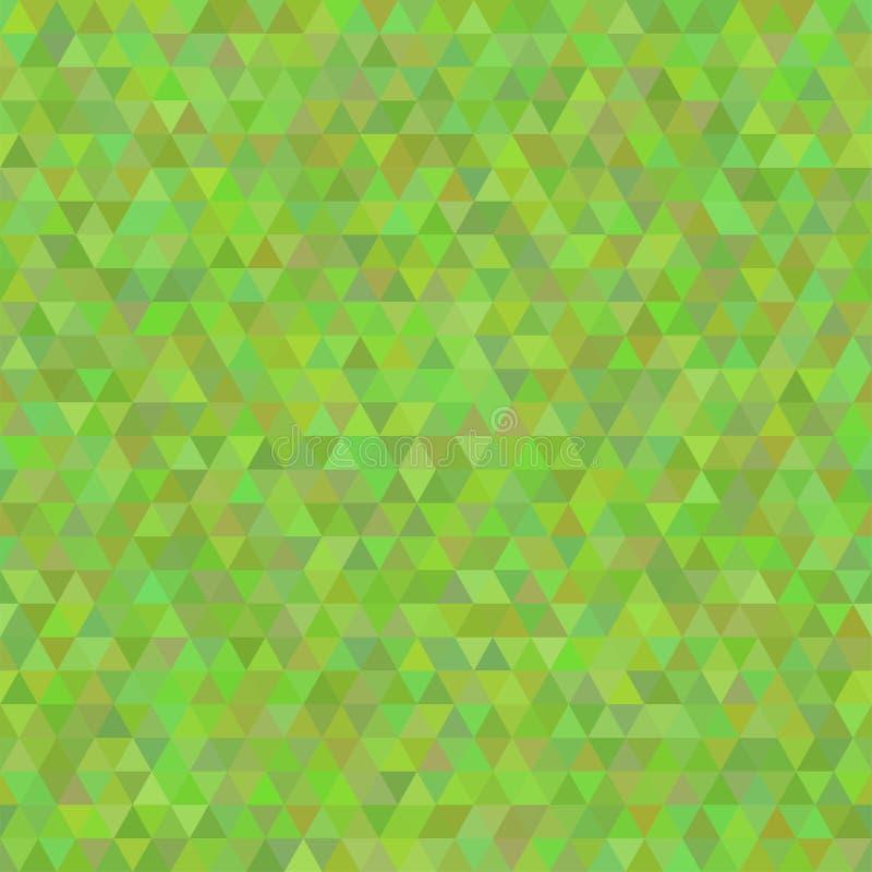 Configuration sans joint de triangle Fond avec la texture abstraite géométrique illustration de vecteur