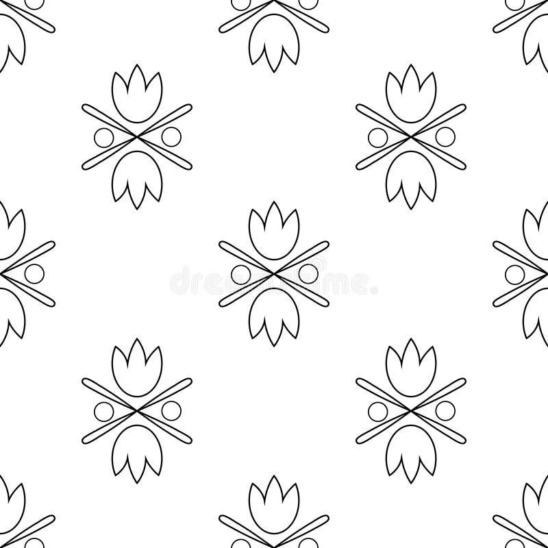 Configuration sans joint de tulipes image libre de droits