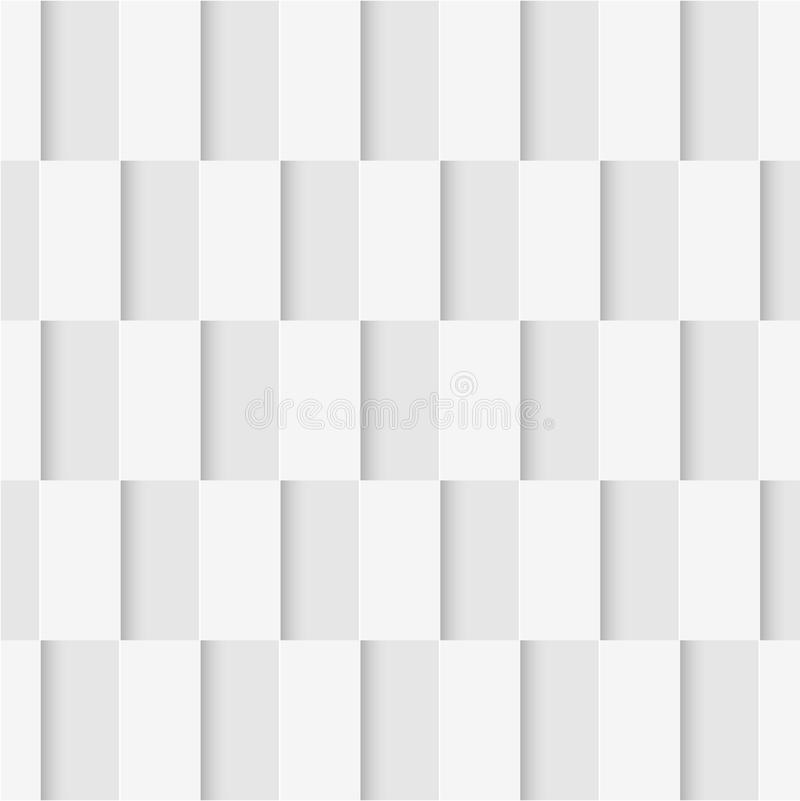 Configuration sans joint des rectangles Papier peint géométrique Backgr mou illustration de vecteur