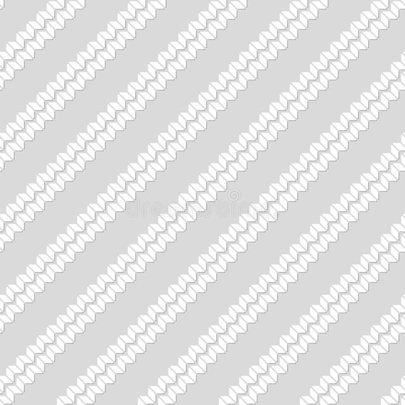 Configuration sans joint des rectangles Papier peint rayé géométrique illustration stock
