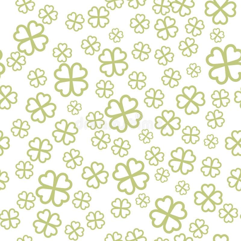 Configuration sans joint du jour de St Patrick illustration stock