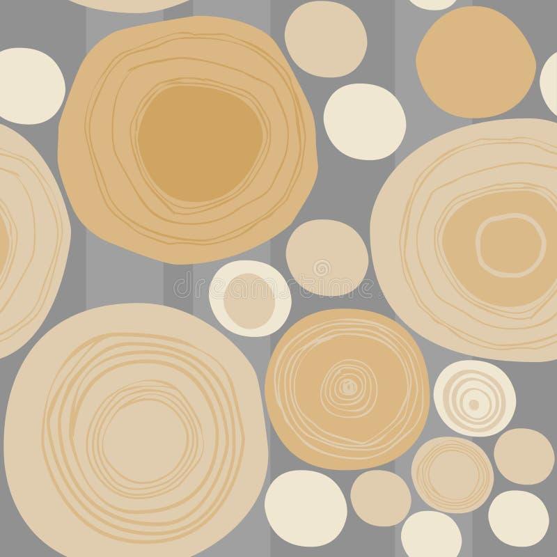 Configuration sans joint en bois illustration libre de droits