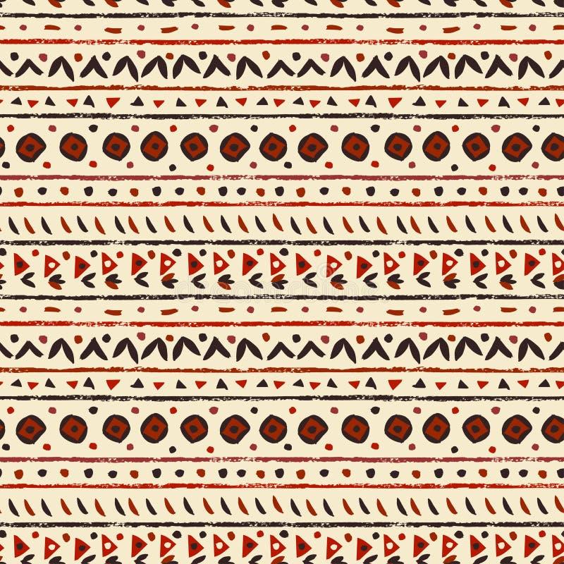 Configuration sans joint ethnique abstraite illustration stock