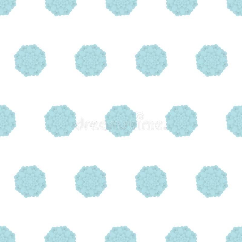 Configuration sans joint florale Fond de fleur Texture ornementale de tuile florale avec des fleurs Jardin de flourish de ressort illustration stock