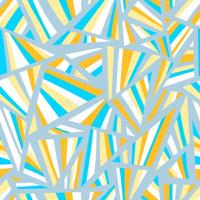 Configuration sans joint géométrique abstraite illustration stock