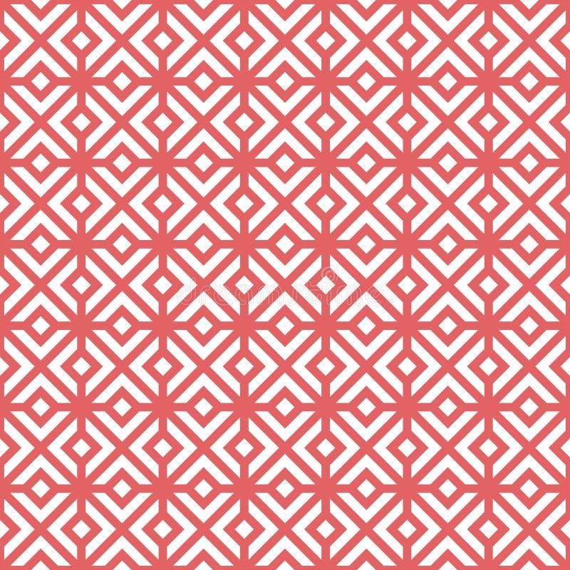 Configuration sans joint géométrique de vecteur illustration libre de droits