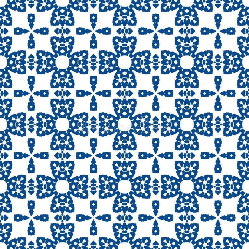 Configuration sans joint Il combine mauresque, l'arabe et un mélange des styles de Berber illustration de vecteur