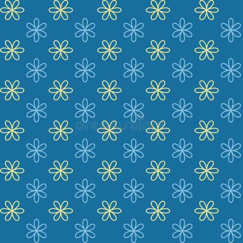 Configuration sans joint La texture sans fin peut être employée pour imprimer sur le tissu et le papier ou l'invitation illustration stock