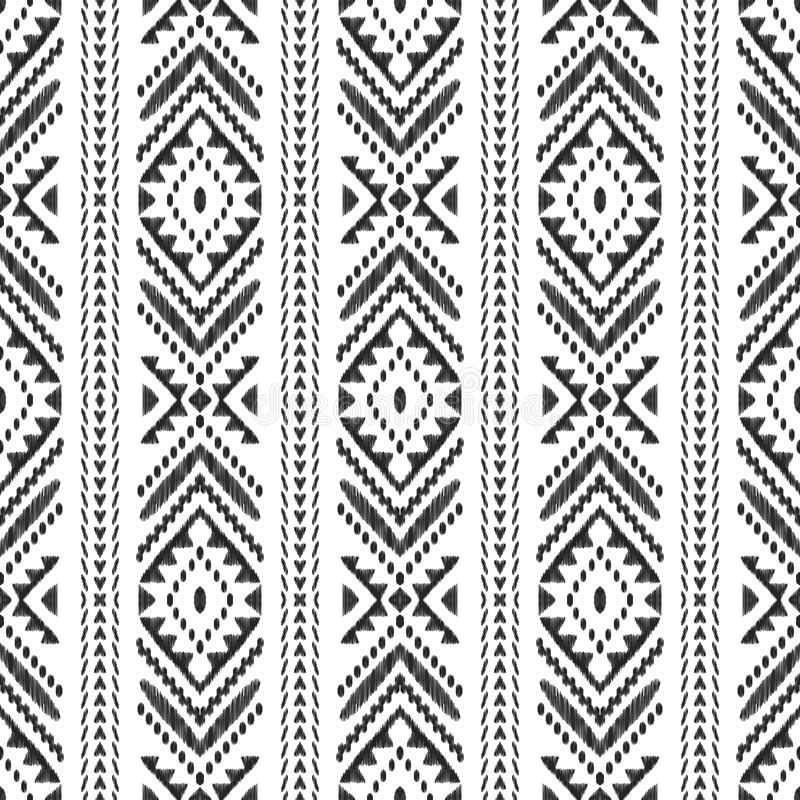 Configuration sans joint noire et blanche illustration libre de droits