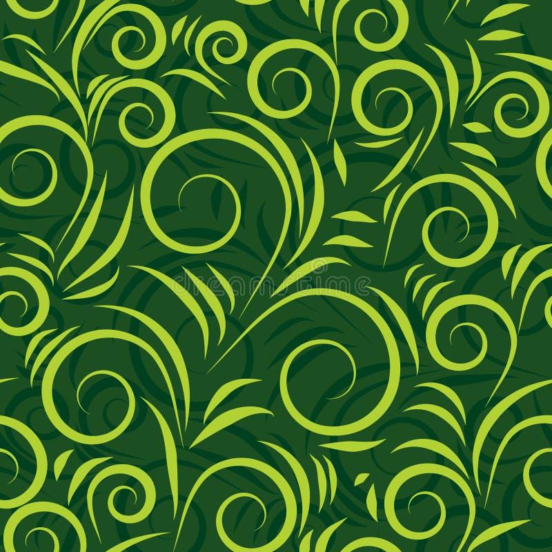 Configuration sans joint verte illustration de vecteur