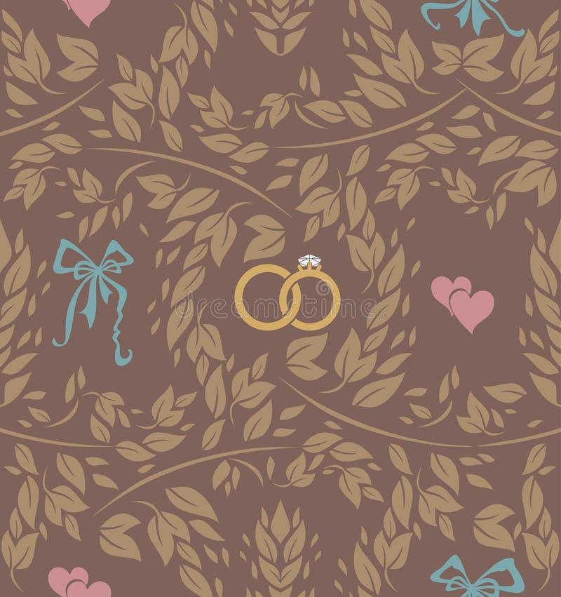 Download Configuration Sans Joint Wedding Illustration Stock - Illustration du famille, guirlande: 87703700