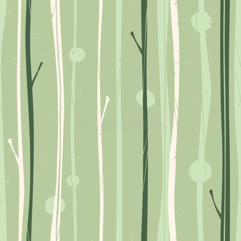 Configuration sereine de forêt