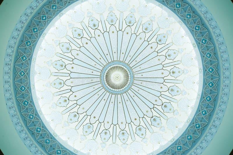 Configuration sur le plafond de dôme photo stock