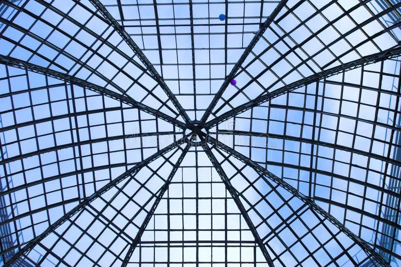 Configuration sur le plafond haut de voûte photographie stock