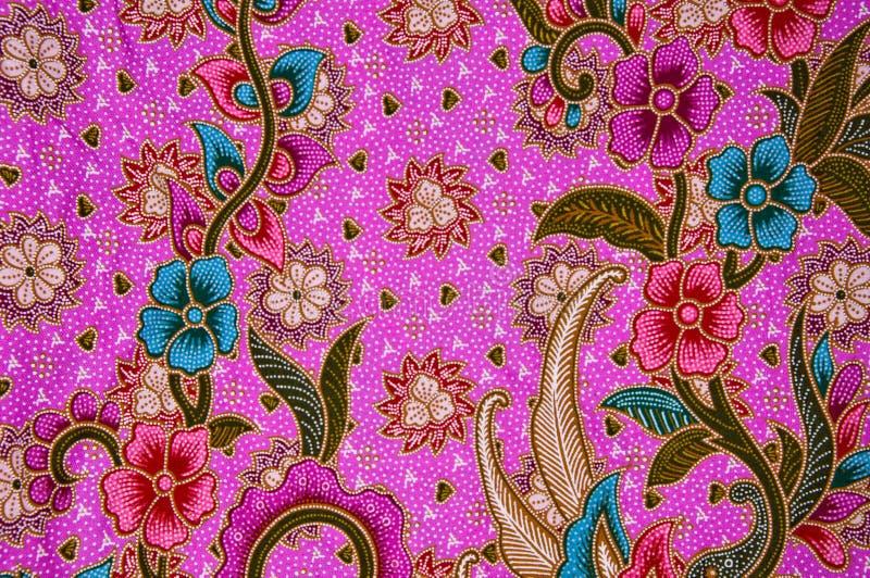 Configuration thaïe de tissu images stock