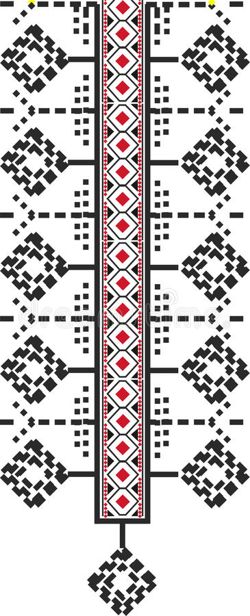 Configuration traditionnelle illustration stock