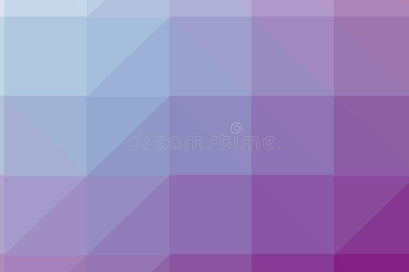 Configuration triangulaire Fond géométrique Contexte avec des formes de triangle illustration stock
